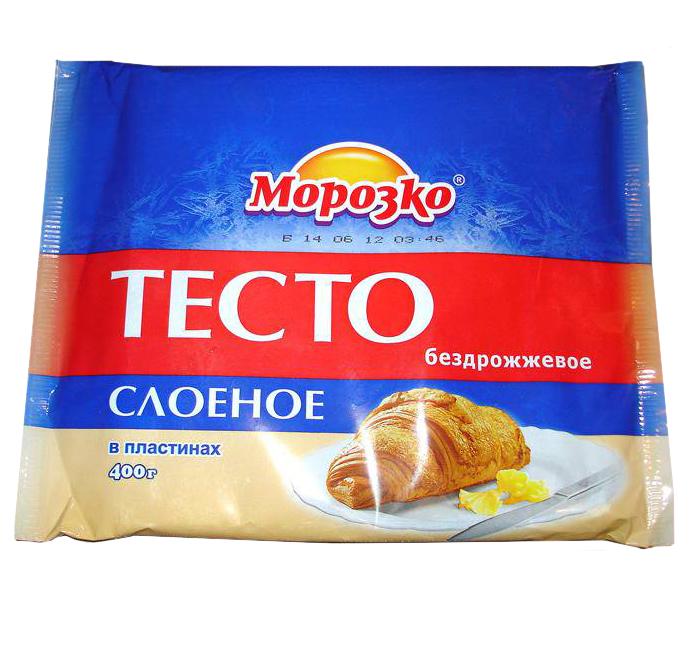 Тесто морозко слоеное бездрожжевое рецепты выпечки